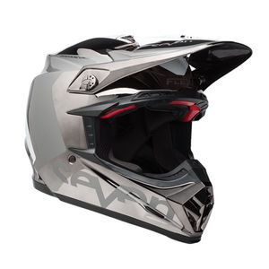 Casque Cross Seven Rogue Noir/chrome 2018