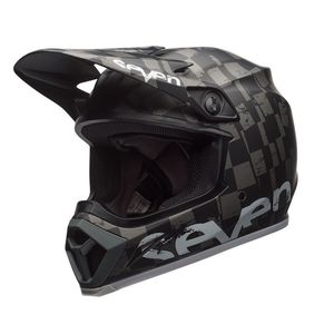 Casque cross MX-9 MIPS CHECKMATE 2019 Noir