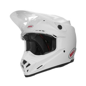 Casque Cross Bell Moto-9 Mips District Blanc 2018