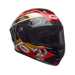 Casque STAR MIPS ISLE OF MAN 18  Noir/Rouge