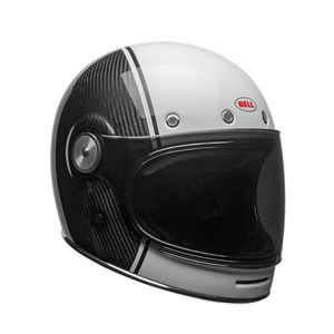 Casque BULLIT CARBON PIERCE  Blanc/Carbone
