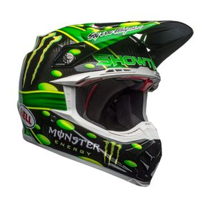 Casque cross MOTO-9 CARBON MC MONSTER REPLICA 2018 Noir/Vert