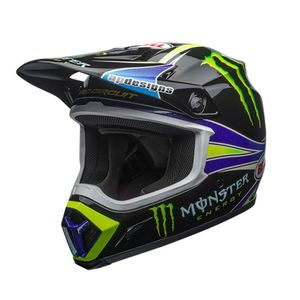 Casque cross MX-9 MIPS PRO CIRCUIT REPLICA 18.0 2019 Noir/Vert