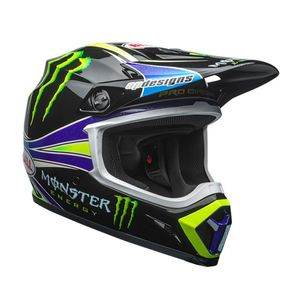 Casque Cross Bell Mx-9 Mips Pro Circuit Replica 18.0 2018