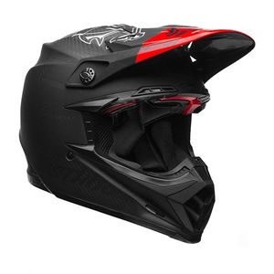 Casque Cross Bell Moto-9 Flex Fasthouse Ditd Noir/rouge 2018