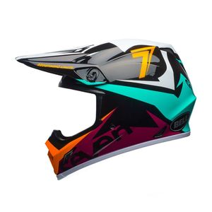 Casque Cross Seven Mx-9 Mips Ignite Aqua 2018