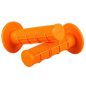 Poignées de guidon MX GRIP WAFFLE FLUO  Orange fluo