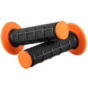 Poignées de guidon MX GRIP DIAMOND COMPOUND  Noir/Orange