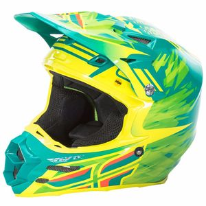Casque cross F2 CARBON MIPS - REPLICA ANDREW SHORT - 2018 Vert/Jaune