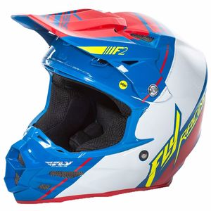 Casque cross F2 CARBON MIPS - REPLICA TREY CANARD - 2018 Bleu/Blanc