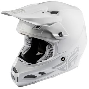 Casque Cross Fly F2 Carbon Mips - Solid - White 2019