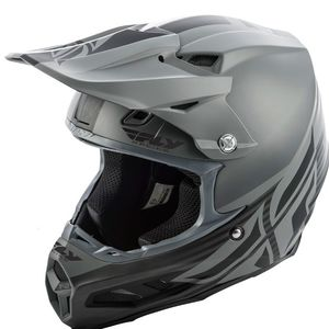 Casque Cross Fly F2 Carbon Mips - Shield - Matte Black Grey 2019