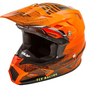 Casque cross TOXIN MIPS - EMBARGO - NEON ORANGE BLACK 2019 Neon Orange Black