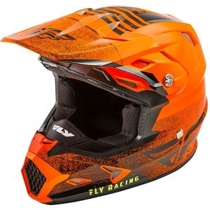 Casque Cross Fly Kid Toxin Mips - Embargo - Neon Orange Black 2019