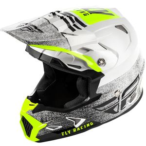 Casque cross TOXIN MIPS - EMBARGO - WHITE BLACK 2020 White
