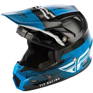 Casque cross TOXIN MIPS - EMBARGO - BLACK BLUE 2019 Black Blue