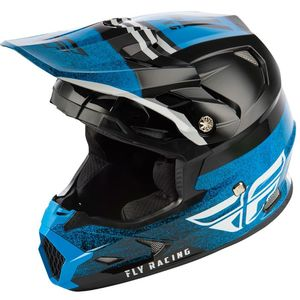 Casque cross TOXIN MIPS - EMBARGO - BLACK BLUE ENFANT  Black Blue