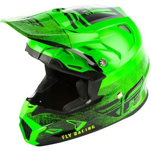 Casque cross TOXIN MIPS - EMBARGO - NEON GREEN BLACK 2019 Neon Green Black