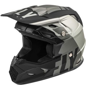 Casque cross TOXIN TRANSFER MIPS - MATT GREY BLACK 2021 Grey/Black