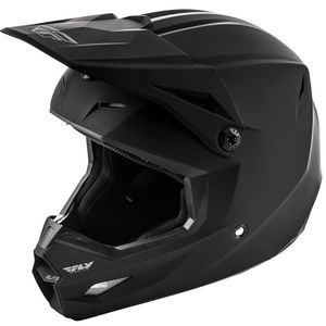 Casque Cross Fly Elite - Solid - Matte Black 2019