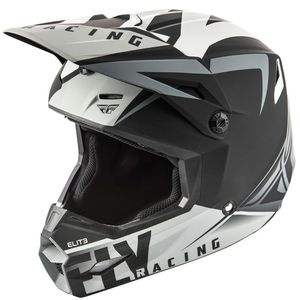 Casque cross ELITE - VIGILANT - MATTE BLACK GREY 2019 Matte Black Grey