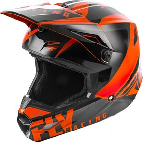 Casque Cross Fly Kid Elite - Vigilant - Orange Black 2019