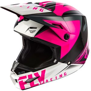 Casque Cross Fly Elite - Vigilant - Pink Black 2019