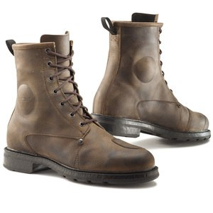 Demi-bottes X-BLEND WATERPROOF  Marron