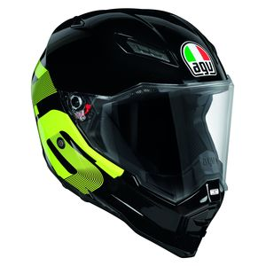 Casque AX-8 EVO NAKED - IDENTITY  Black/yellow
