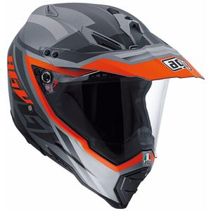 Casque AX-8 DUAL EVO - KARAKUM  Grey/Orange