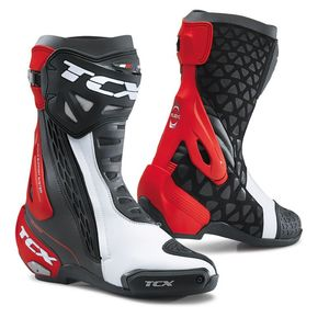 Bottes RT RACE - BLACK WHITE RED  Black White Red