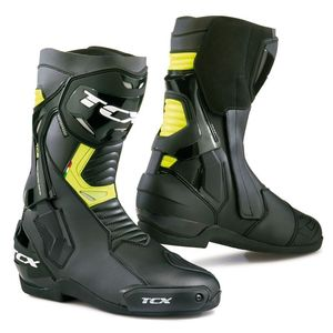Bottes ST FIGHTER WATERPROOF  Noir/Jaune Fluo