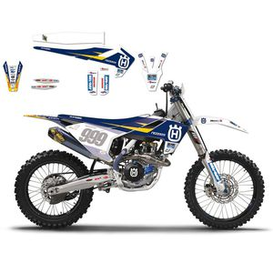 Kit déco + housse de selle Husqvarna Replica Ricci racing
