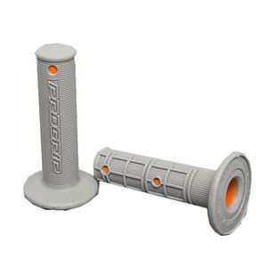Poignées de guidon Progrip MX 799 Gris/orange