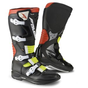 Bottes Cross Falco Drake 2.1 Black Red Fluo 2018