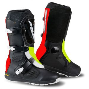 Bottes Cross Falco Lion 2.1 Enfant Black Red Yellow 2019