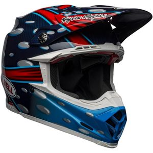 Casque cross MOTO-9 FLEX McGrath Replica 2021 Blue/Red/Black