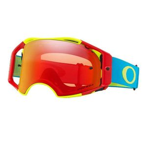Masque cross Airbrake MX Flo RGB écran Prizm MX Torch Iridium rouge 2021 Bleu/Vert