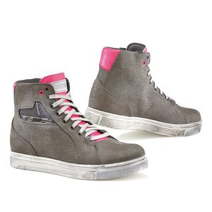 Chaussures STREET ACE AIR LADY GOLD GREY/FUCSIA  Fushia/Gris