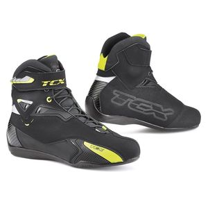 Baskets Tcx Boots Rush Noir/jaune Fluo Waterproof