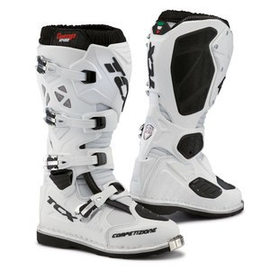 Bottes cross COMP EVO BLANC 2019 Blanc