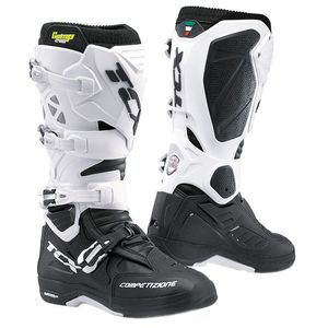 Bottes cross COMP EVO 2 MICHELIN - BLACK WHITE 2020 Noir