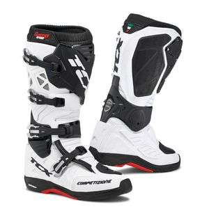Bottes cross COMP EVO 2 MICHELIN BLANC 2019 Blanc