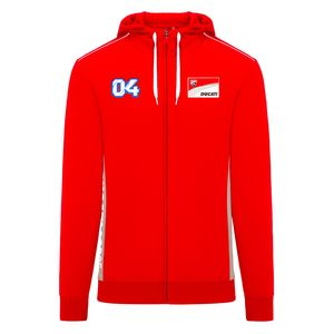Sweat DUCATI ZIPPED - ANDREA DOVIZIOSO  Red