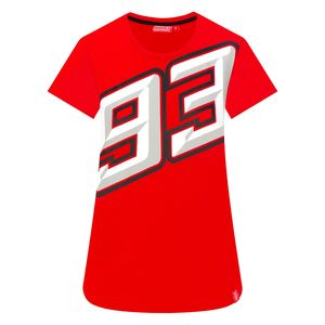 T-Shirt manches courtes MARC MARQUEZ LADY  Red