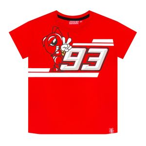 T-Shirt manches courtes MARC MARQUEZ KID RED  Red