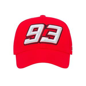 Casquette BASEBALL 93 RED  Red