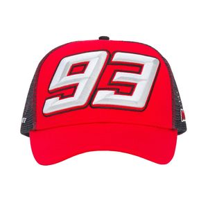 Casquette BASEBALL TRUCKER 93  Grey Red