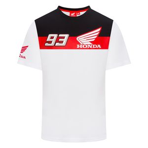 T-Shirt manches courtes HRC - MARC MARQUEZ  Grey White Red