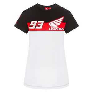 T-Shirt manches courtes HRC LADY - MARC MARQUEZ  Grey White Red